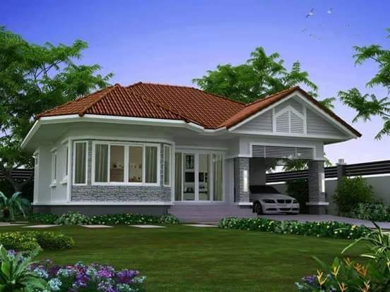 20 best house designs images on pinterest bungalow house for Beautiful bungalow designs