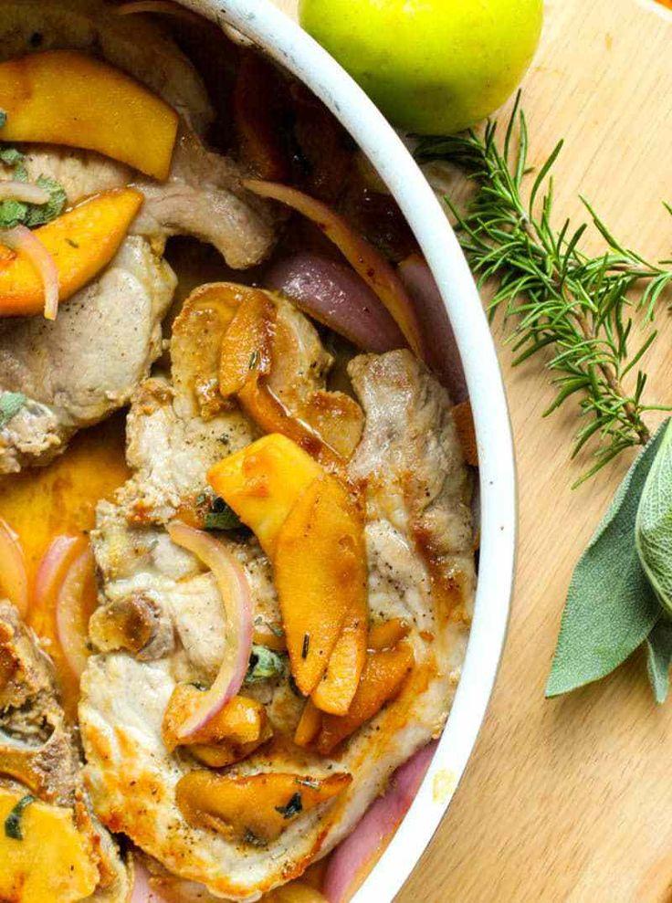 Easy apple pork chop recipes