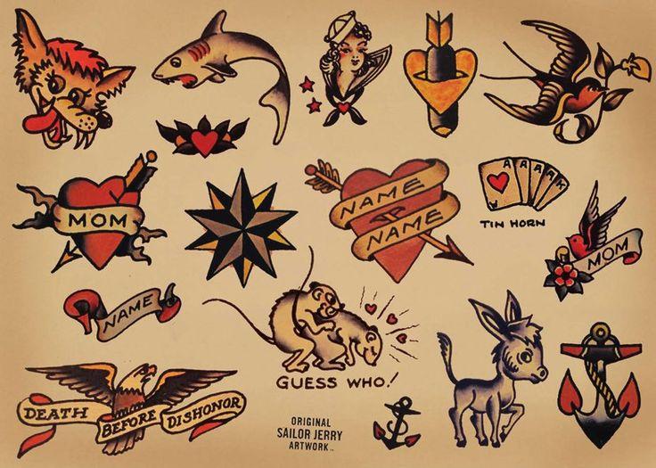Sailor Jerry Tattoo Parlour Poster | Tattoo Respec ...