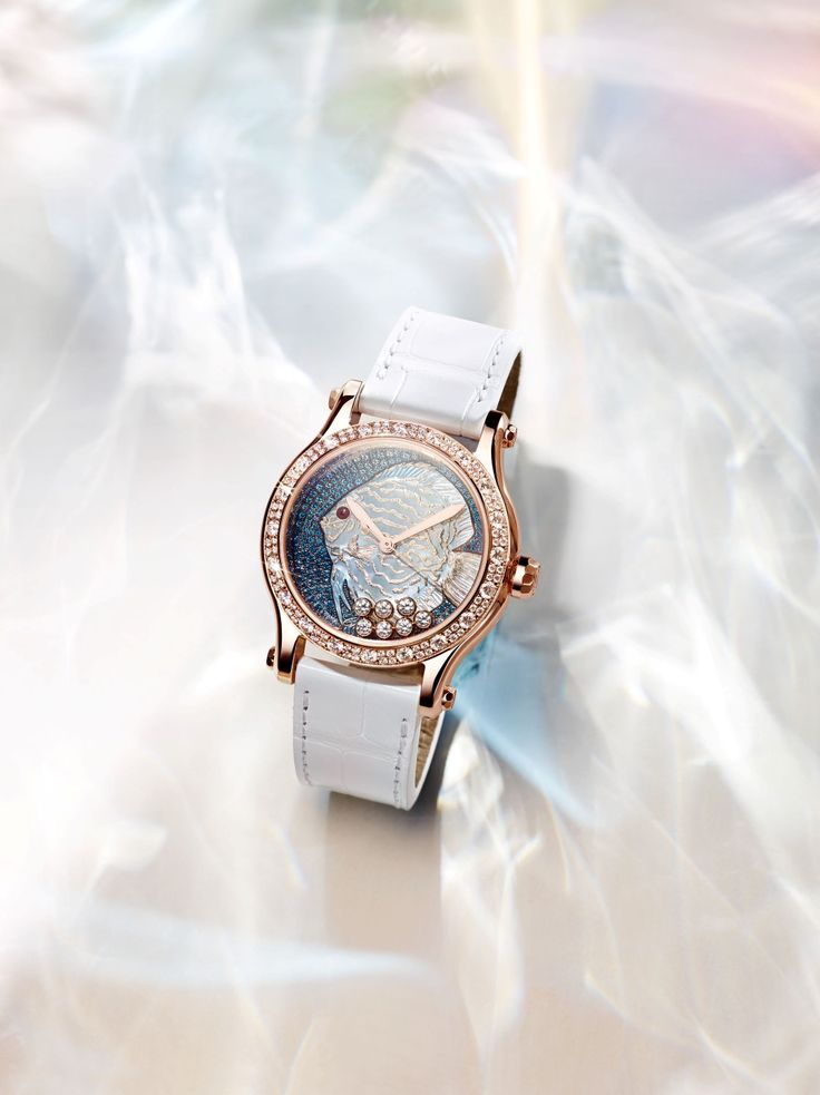 #Chopard Happy Fish Métiers d'Art de día