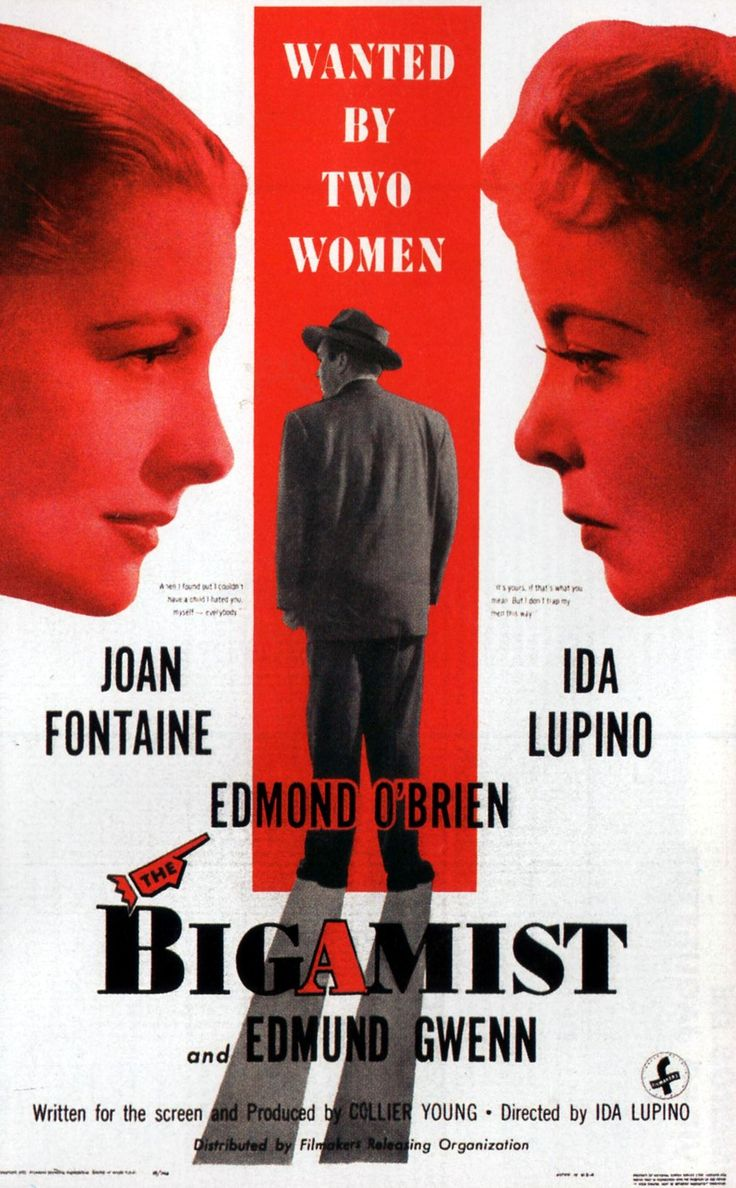 Directed by lupino the bigamist looks like it s going to turn into a weeperbut doesn