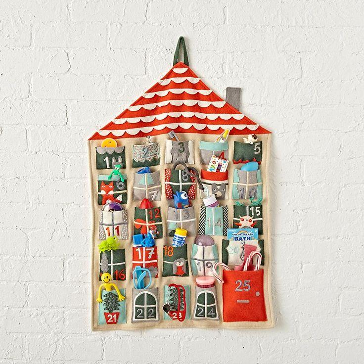 Holiday Helper Toy Advent Calendar  | The Land of Nod