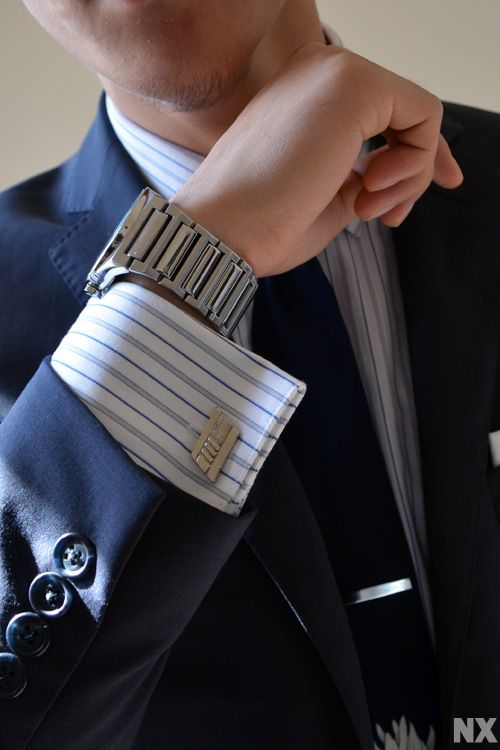 how to wear cufflinks with french cuffs