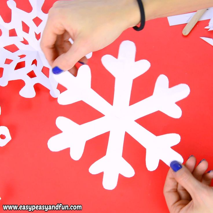 How To Make Paper Snowflakes – pattern templates