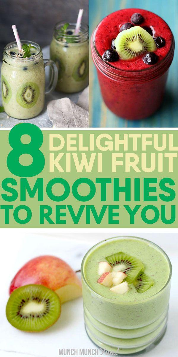 detox smoothie kiwi