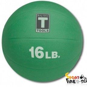Медицинский мяч 16LB 7.3KG GREEN