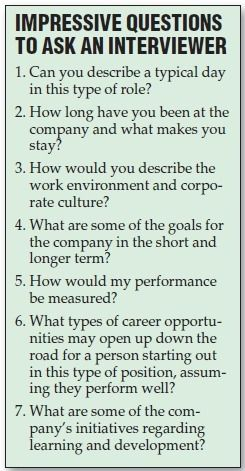 If you can't come up with questions you want to ask the employer   Interview Advice & Tips   Scoop.it