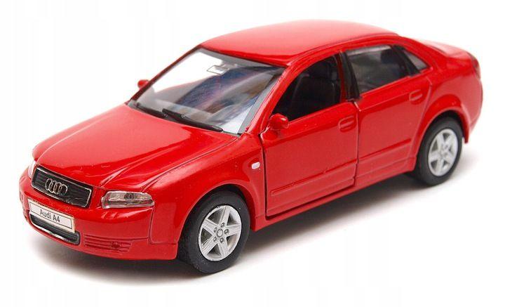 Audi A4 42318 1 34 Welly Granatowy Audi A4 Audi Lamborghini Gallardo
