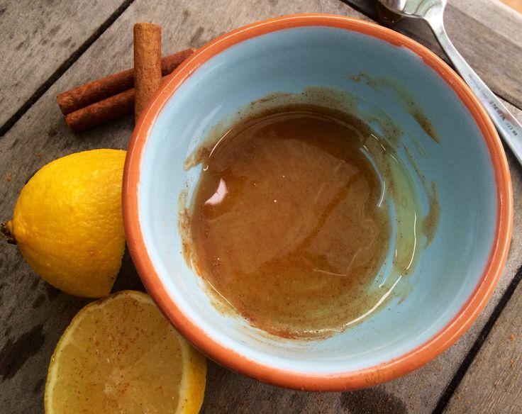 skořicovo medová lžička