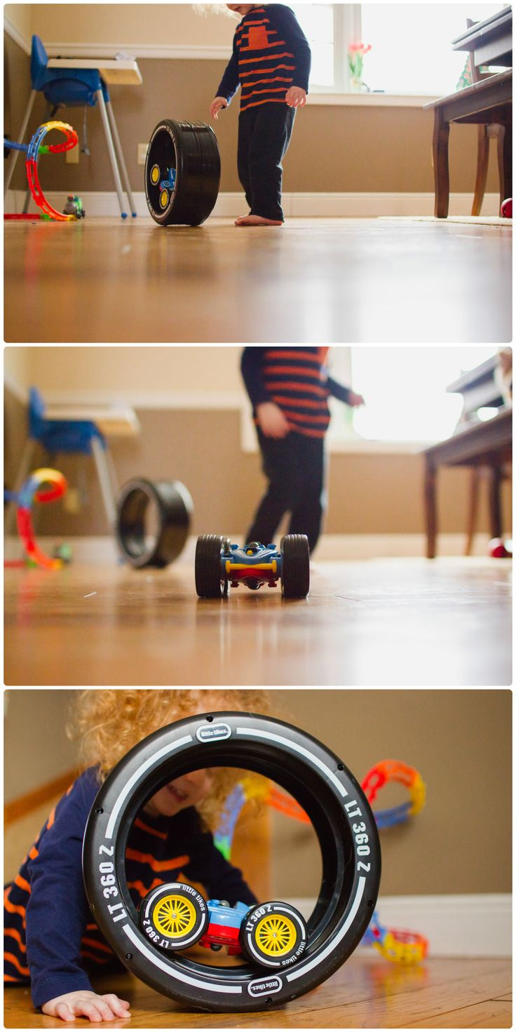 The Little Tikes RC Tire Twister is a wild ride – the car does flips inside the tire while going forwards and backwards. Plus, it zooms around outside the tire with an easy to use remote control. For kids love racing, cars and racecars, this is a great gift idea for preschoolers and toddlers age 3+.