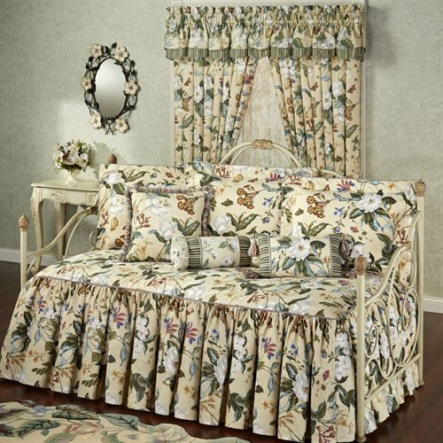 Garden Images III Daybed Set Parchment Daybed