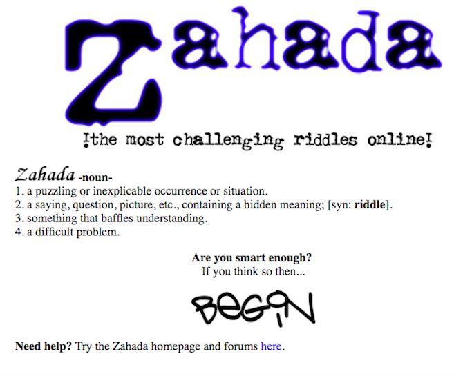 online riddle games