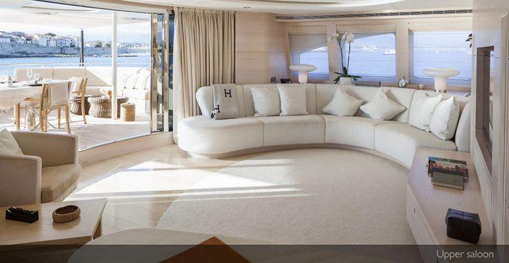 SuperYachtsMonaco Sales: Sibelle - FOR SALE EURO 20.250.000 • 44.00M • Heesen Yachts • 2008 #superyacht #Heesenyachts #luxuryyacht