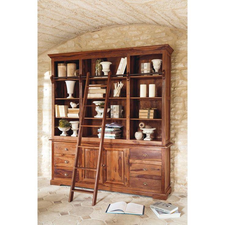 17 meilleures id es propos de chelle de biblioth que sur pinterest tag - Echelle bibliotheque bois ...