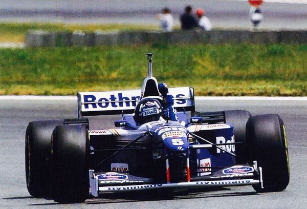Damon Hill (Rothmans Williams-Renault)