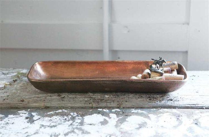 Copper Finish Tray