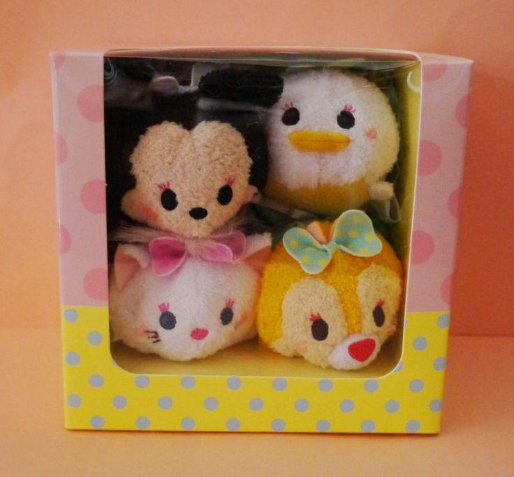 TSUM TSUM Disney Store Harajuku 2nd limited Minnie Daisy Marie Clarice Japan new #Disney