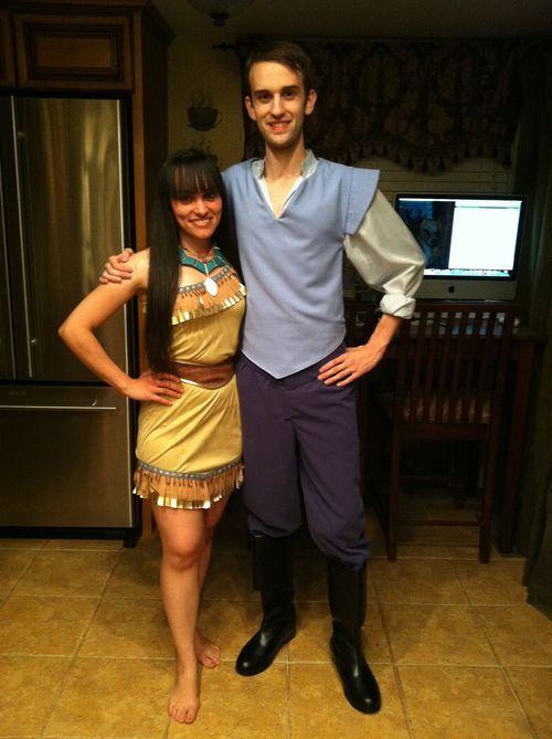 pocahontas and john smith costume - Google Search