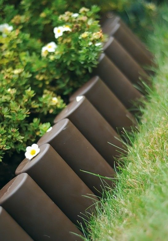Plastic Garden Edging Ideas plastic borders vegetable and flower edging ideas Decorative Landscaping Edging Ideas