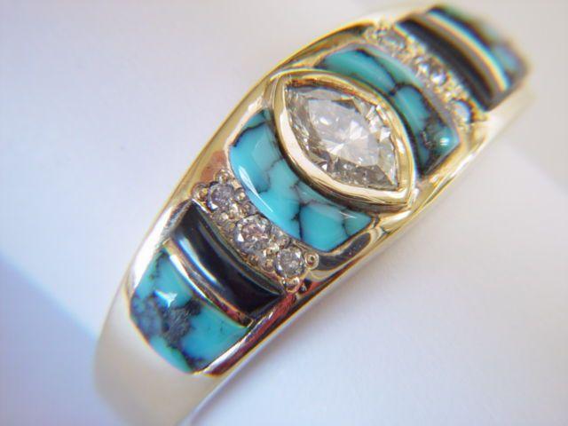 Diamond X Rings