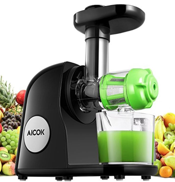 Aicok juicer slow masticating juicer extractor cold press