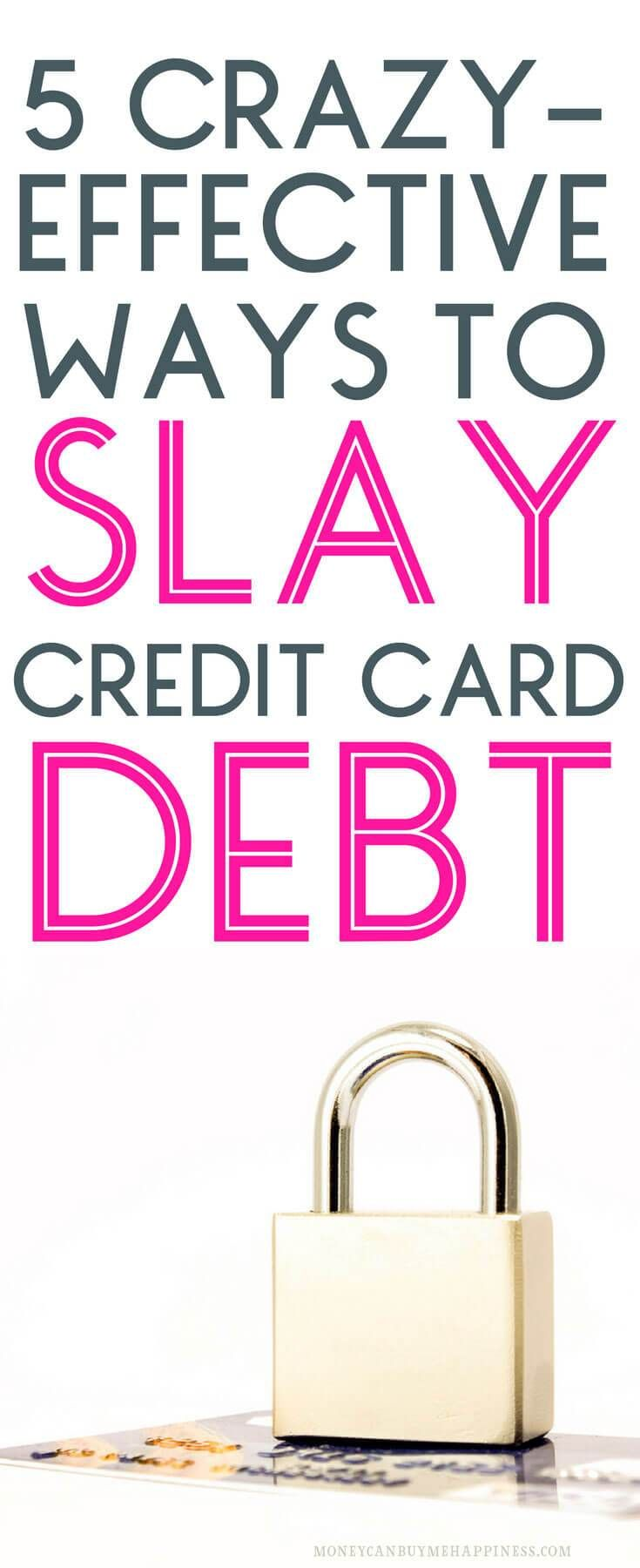 Want to be free of credit card debt? You can be! With these tips for getting out of debt, you'll be on your way to financial freedom in no time at all. #cleardebt #debtfree