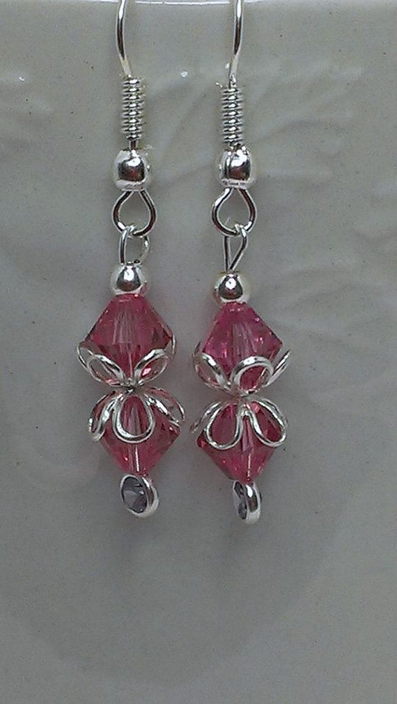 Be Mine Dangle Earrings By Newyearcreations On Etsy 15 00 Pinterest Dangles And Beads