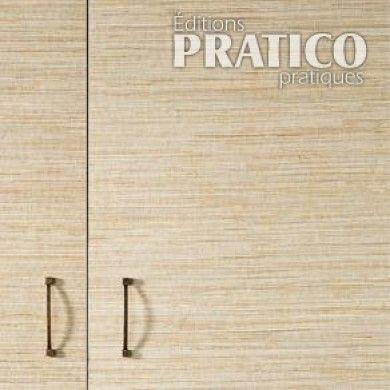 Comment recouvrir des armoires de mélamine de papier peint - En étapes - Décoration et rénovation - Pratico Pratique