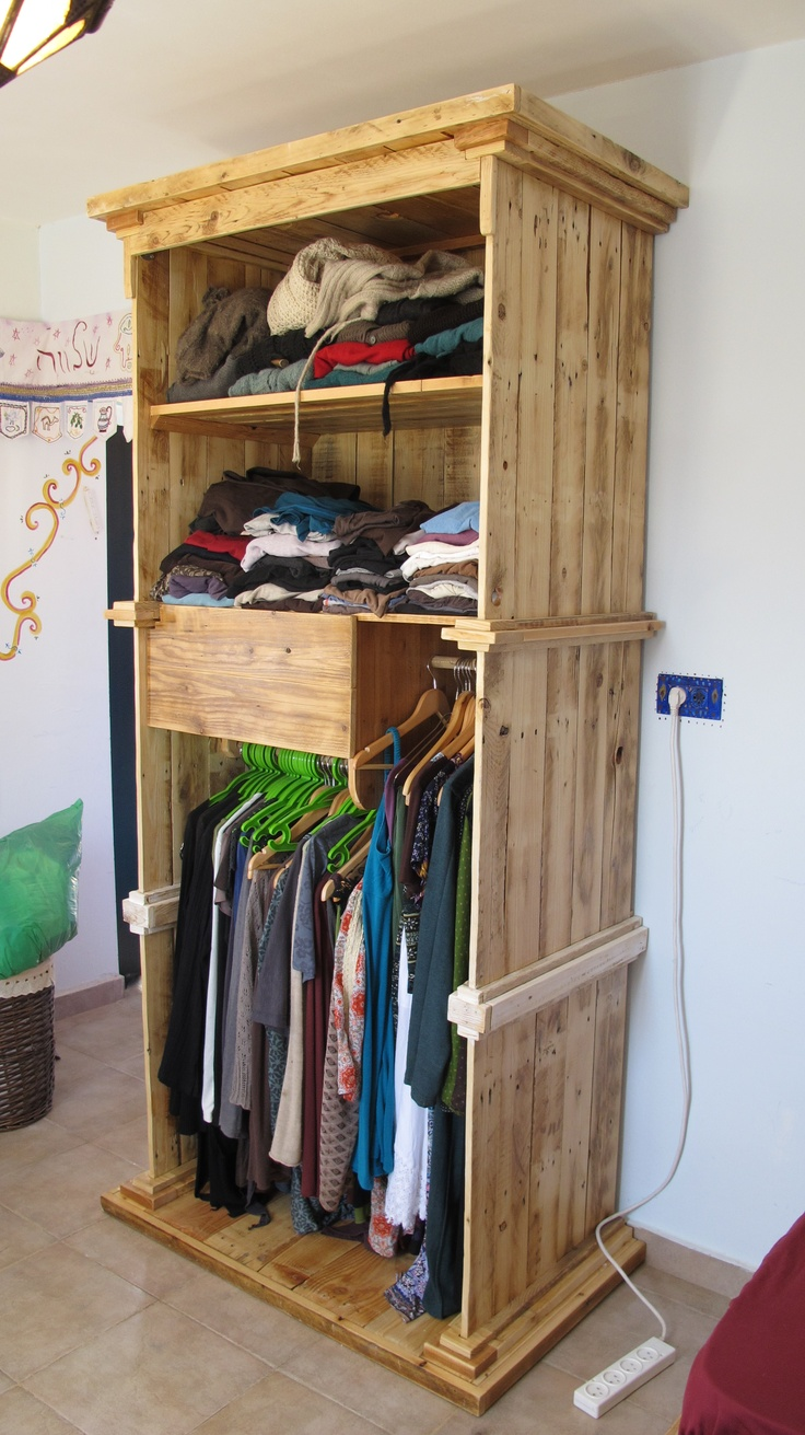Recycled Wood Wardrobe My Work Muebles Hogar