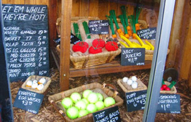 can we make a farmers market out of paper??  ...7 Tips to Create Winning Window Displays