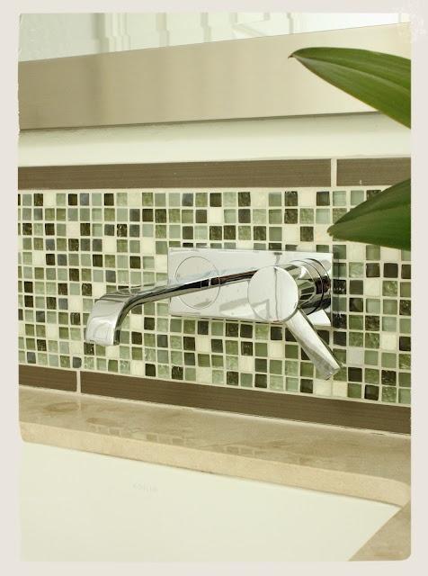 Mosaic Tile Backsplash Designed By Kelly Berg