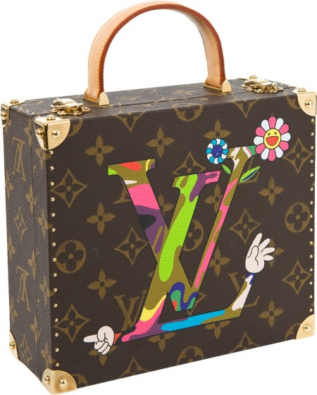 Louis Vuitton Limited Edition by Takashi Murakami 2003 Extremely Rare Jewelry Box at Heritage Auctions.