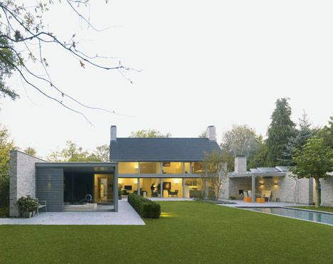 :: Havens South Designs :: loves Villa Rotonda in the Netherlands by Bedaux de Brouwer Architects. Stunning. Click for more pics and floor plans.