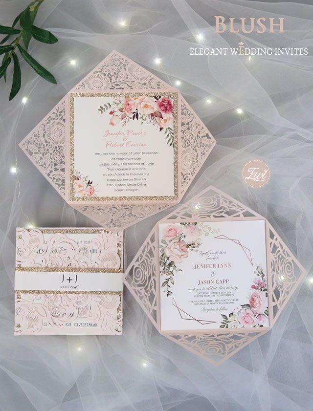 Pink Wedding Invitations Elegant Wedding Invites Elegantweddinginvites Elegant Wedding Invitations Pink Wedding Invitations Wedding Invitations