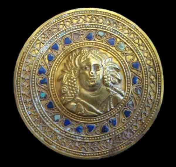 Hellenistic Gold Roundel, 300-100 B.C.