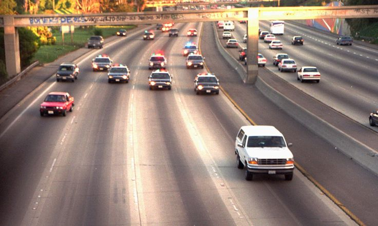 OJ Simpson Chase Route on @Roadtrippers.com