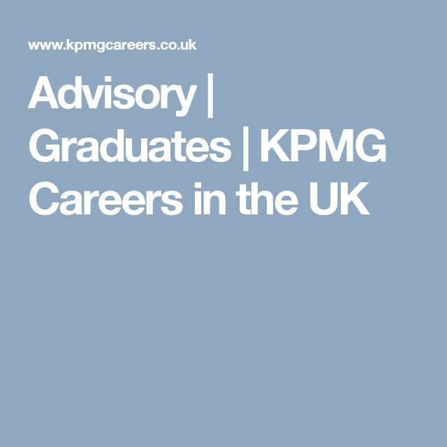 Advisory | Graduates | KPMG Careers in the UK