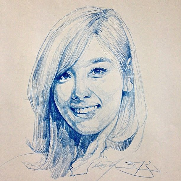 Pencil drawings by Alvin Chong