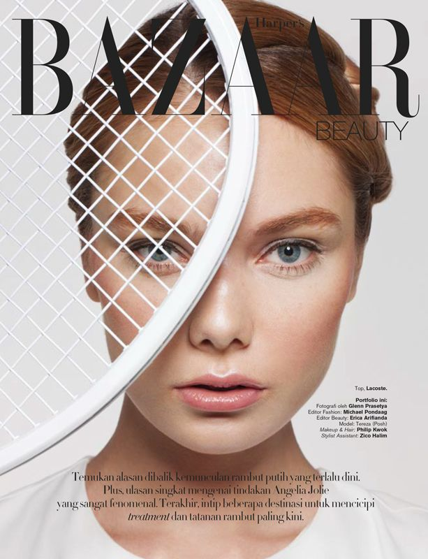 TWISTING GAMES by Glenn Prasetya for HARPER'S BAZAAR Indonesia August 2013