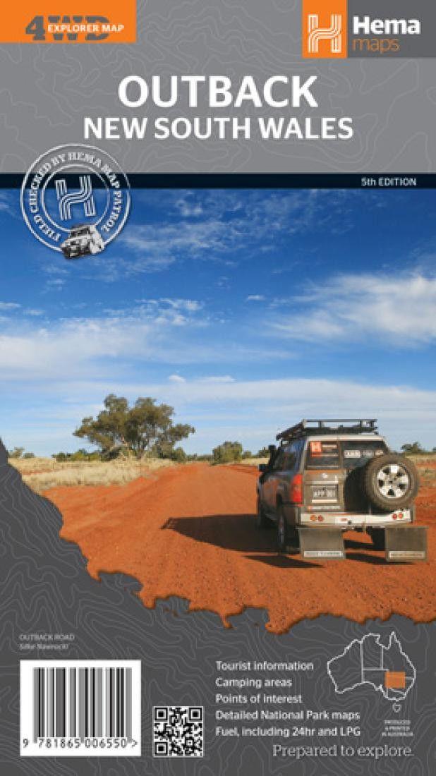 Outback New South Wales, Australia by Hema Maps