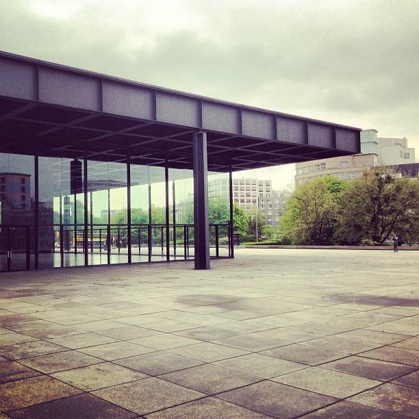 #berlin #neuenationalgalerie #miesvanderrohe