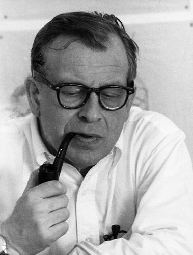 Eero Saarinen, an architect who was born in Finland and became an American.