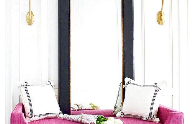 Chic Contemporary Violet Sofa Furniture Design