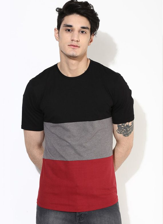 Bird Print Tshirt. Printed Blue Tshirt. Organic Cotton Clothing for Men. Menswear on Etsy. Sustainable Fashion 6UaRP89lNj