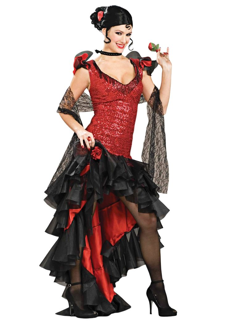 This Women's Deluxe Spanish Dancer Costume exudes the fiery spirit of the Andalusian countryside! Have your date wear our deluxe Adult Matador Costume for a great couples idea.
