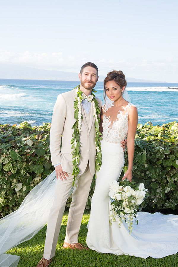 Chic Island Vibe Wedding in Maui