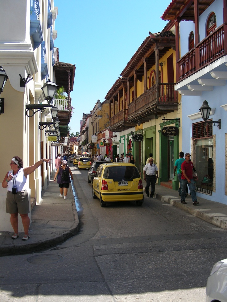 Las calles de la Ciudad Amurallada
