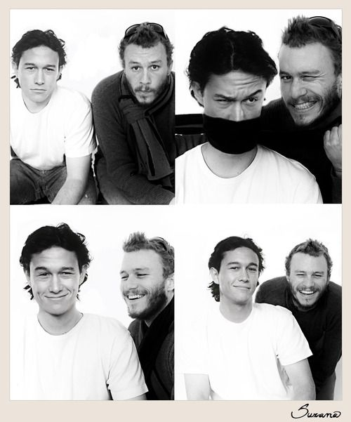 Joseph Gordon Levitt And Heath Ledger || Cuties ♡