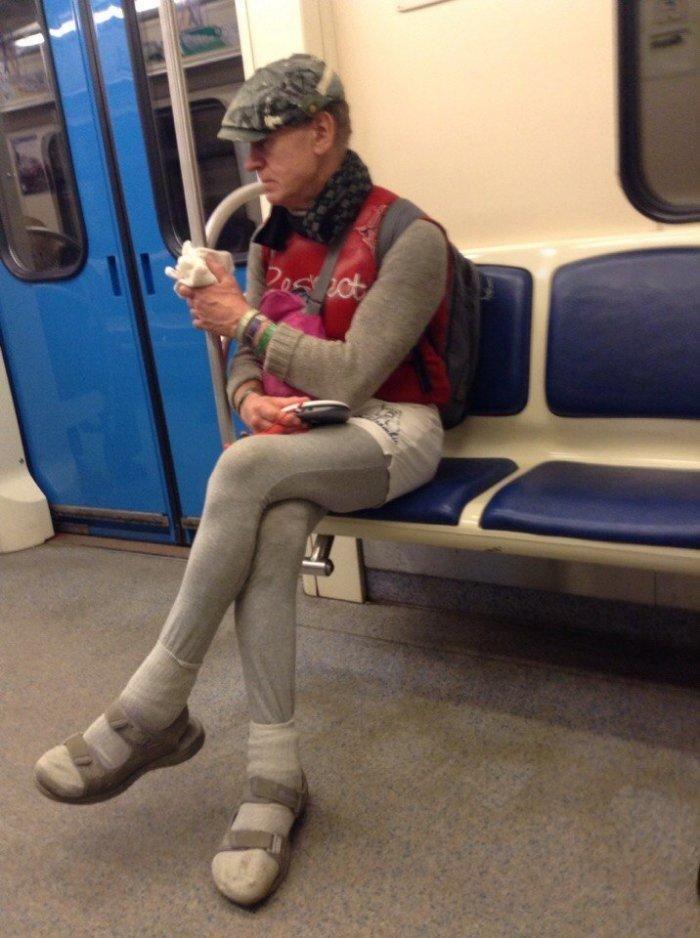 фотографии прикольно одетых людей в метро