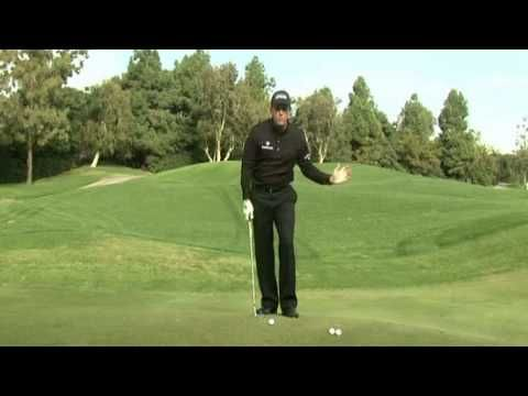 Phil Mickelson - 50 yard shot instruction.